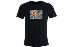 T-shirt illuminé: GUITARISTE LED