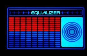 IMAGE LED EQUALIZER RADIO