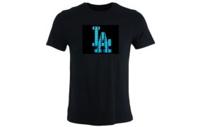 Tee-shirt LED Los Angeles