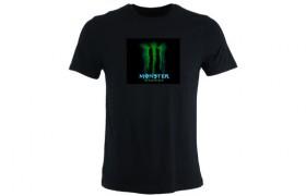 T-shirt electroluminescent: Monster