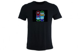 T-shirt LED SOUTH PARK