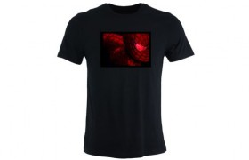 T-shirt LED SPIDERMAN