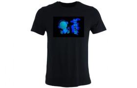 T-shirt phosphorescent: MUSIC GUY
