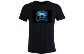 T-shirt électroluminescent: SPIDERMAN