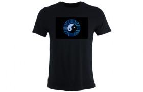 T-shirt luminescent: Yin Yang