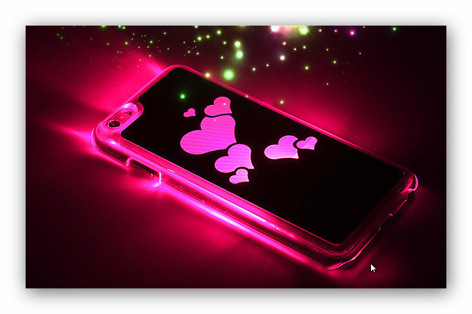 coque lumineuse iphone 6 et 7 prot ge et magnifie votre. Black Bedroom Furniture Sets. Home Design Ideas