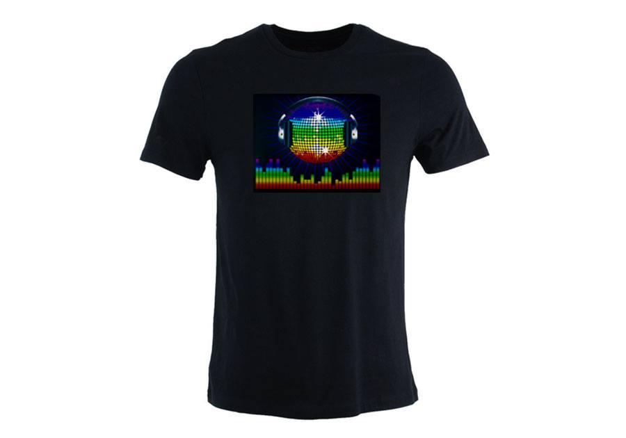 T-shirt LED BOULE