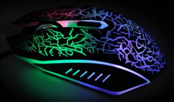 souris led souris lumineuse multicolore led mousse. Black Bedroom Furniture Sets. Home Design Ideas