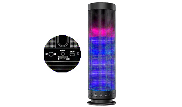 enceinte lumineuse bluetooth pro son extra. Black Bedroom Furniture Sets. Home Design Ideas