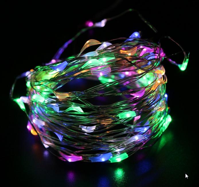 fil de cuivre lumineux guirlande lumineuse fil lumineux lighted coppers. Black Bedroom Furniture Sets. Home Design Ideas